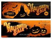 Fotografie Halloween Sale Banner
