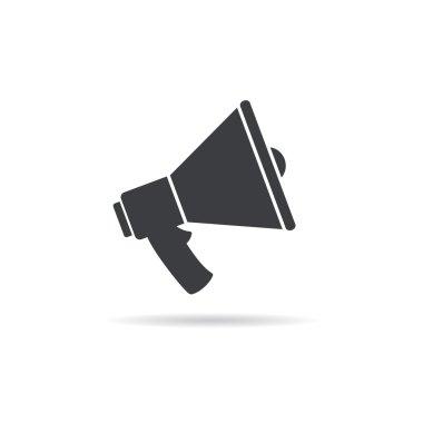 Megaphone icon  illustration