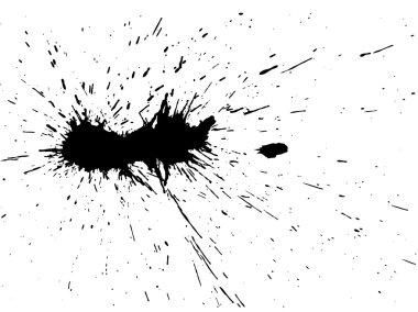 black brush spot