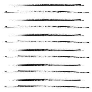 hand drawn horizontal stripes pattern