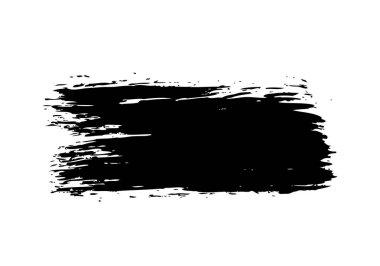 Grunge brush stroke, vector illustration clip art vector
