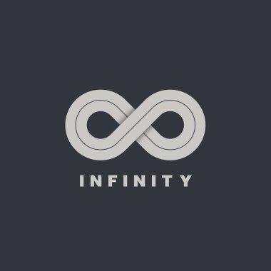 infinity symbol logotype