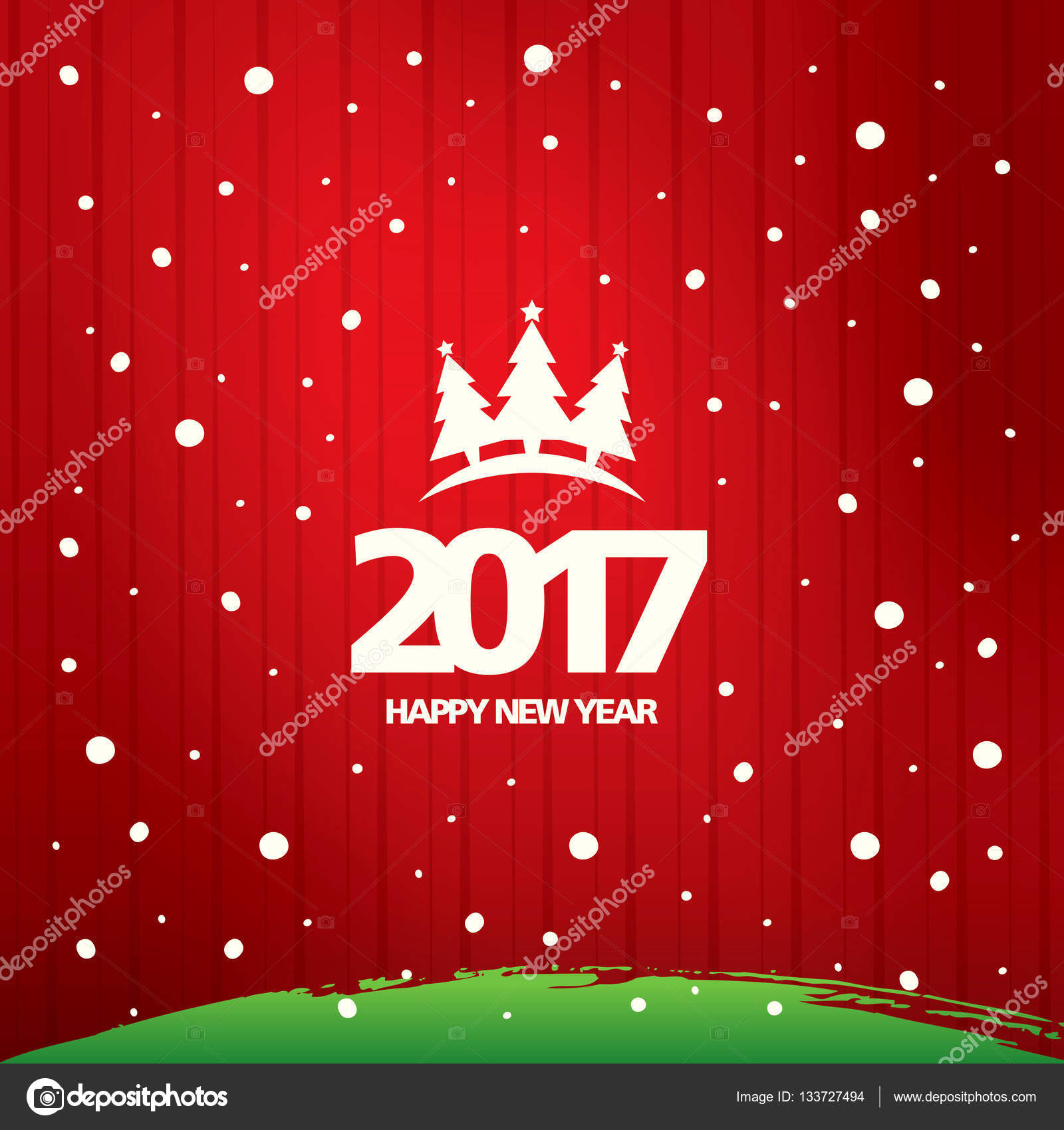 New year greeting card stock vector igorvkv 133727494 new year greeting card stock vector kristyandbryce Images