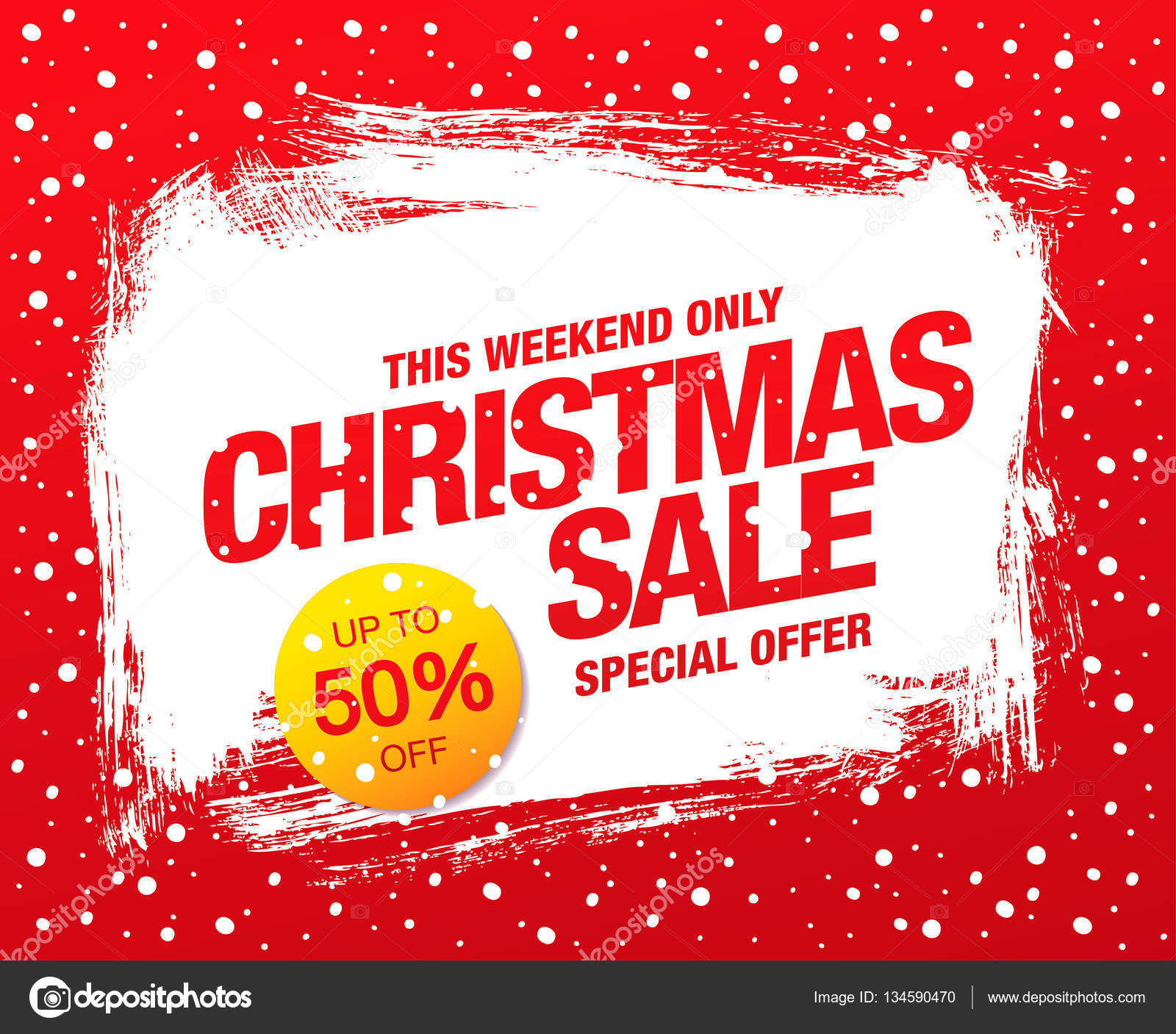 Weihnachten-Verkauf-banner — Stockvektor © Igor_Vkv #134590470