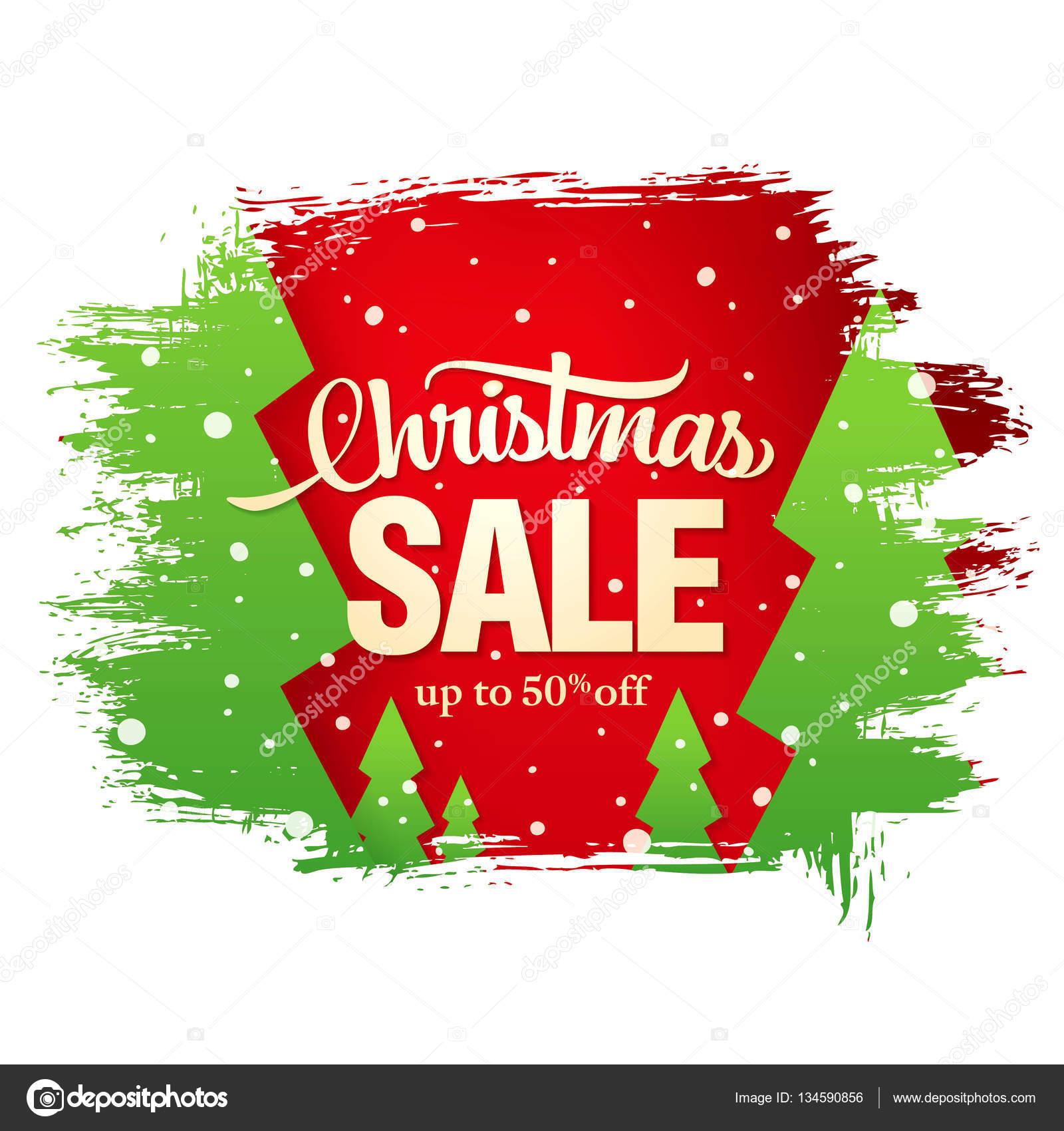 Weihnachten-Verkauf-banner — Stockvektor © Igor_Vkv #134590856