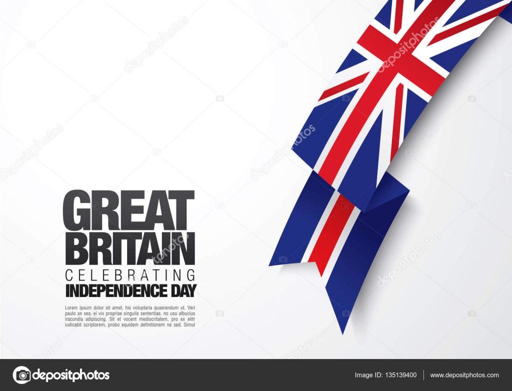 Großbritannien Flagge Vorlage — Stockvektor © Igor_Vkv #135139400