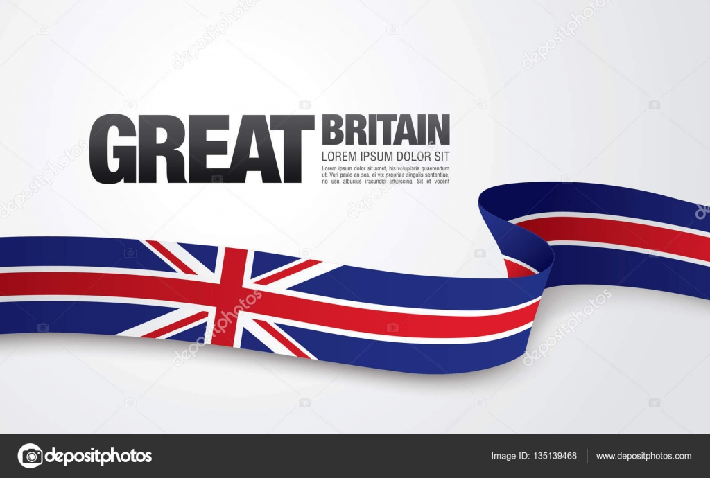 Großbritannien Flagge Vorlage — Stockvektor © Igor_Vkv #135139468