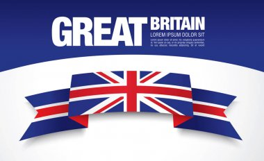 Great Britain flag template