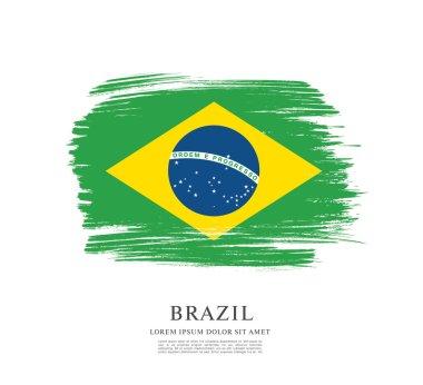 Flag of Brazil background