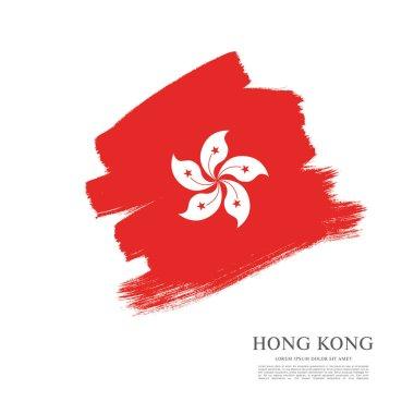 Flag of Hong Kong background