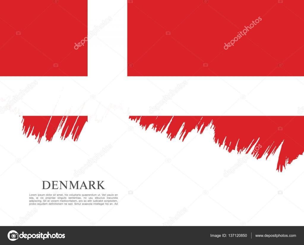flag of denmark background u2014 stock vector igor vkv 137120850