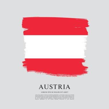 """Картина, постер, плакат, фотообои """"Флаг Австрии"""", артикул 137120042"""
