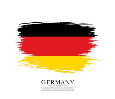 Flag of Federal Republic of Germany