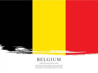Flag of Belgium background