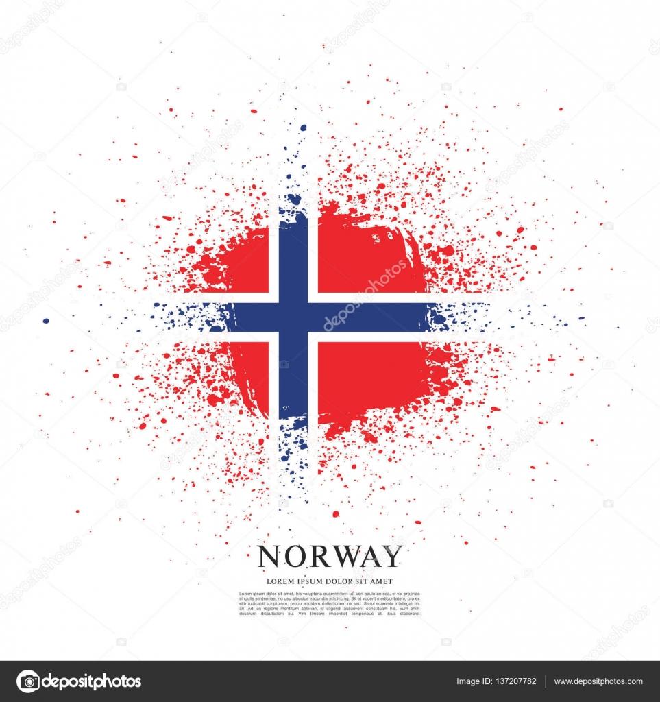 norway flag background u2014 stock vector igor vkv 137207782