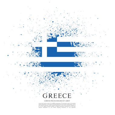 Flag of Greece background