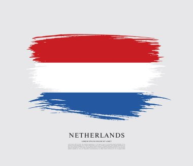 Flag of Netherlands background