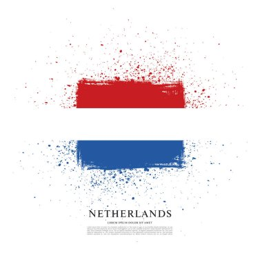 Flag of Netherlands background