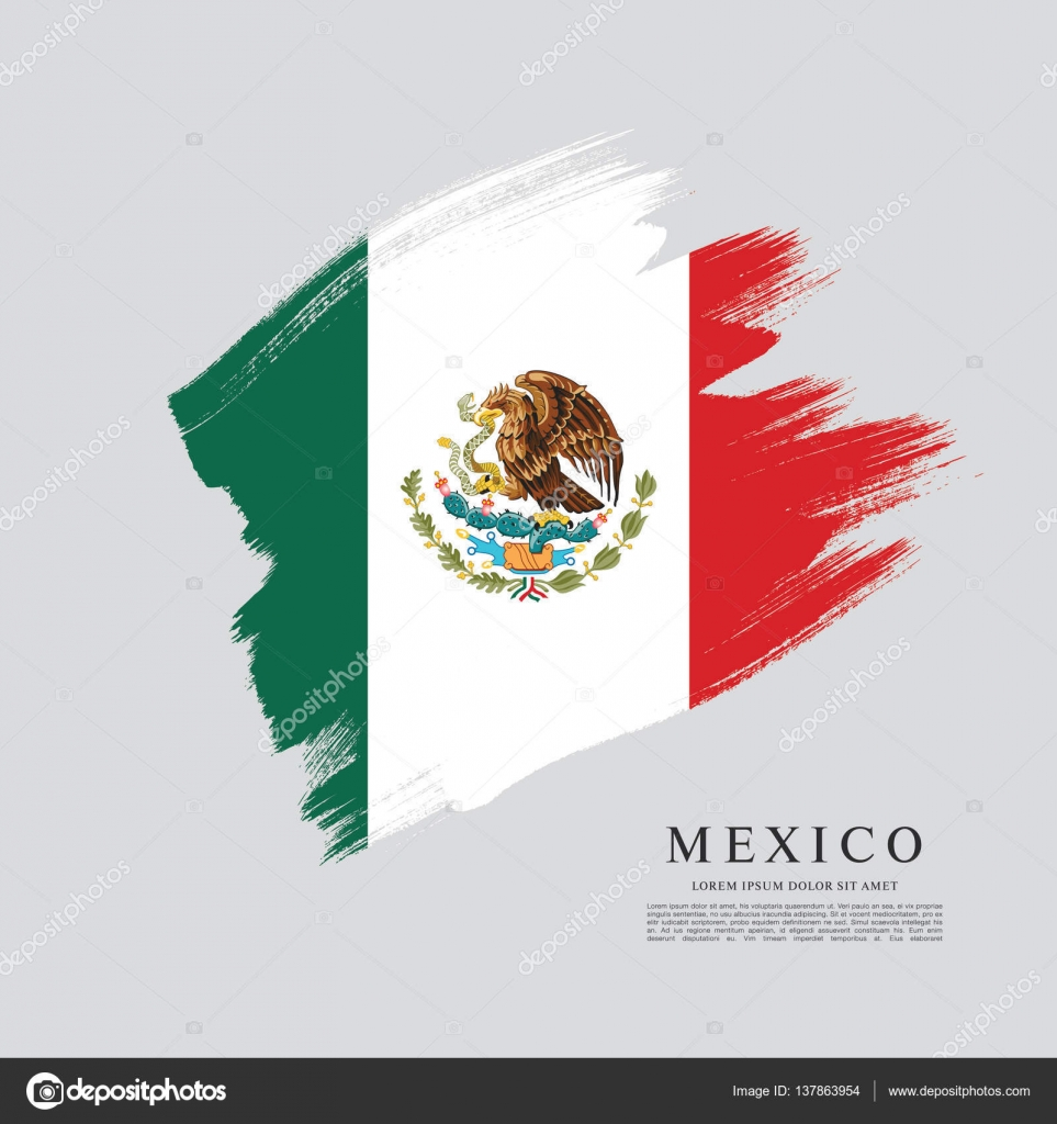 mexican flag banner template u2014 stock vector igor vkv 137863954