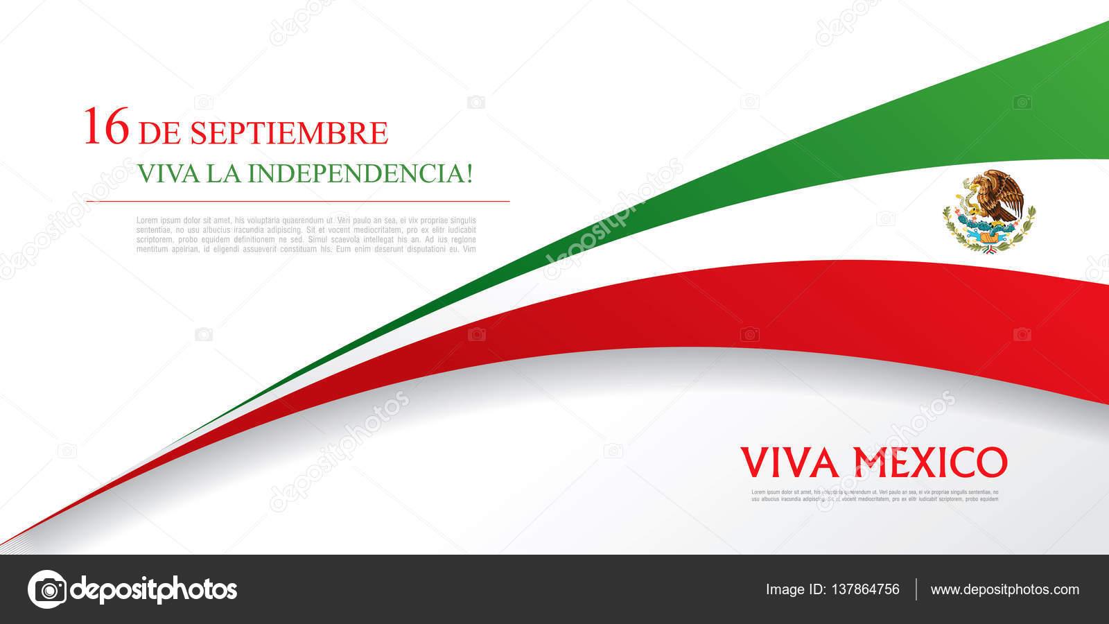 Mexico Independence day banner — Stock Vector © Igor_Vkv #137864756