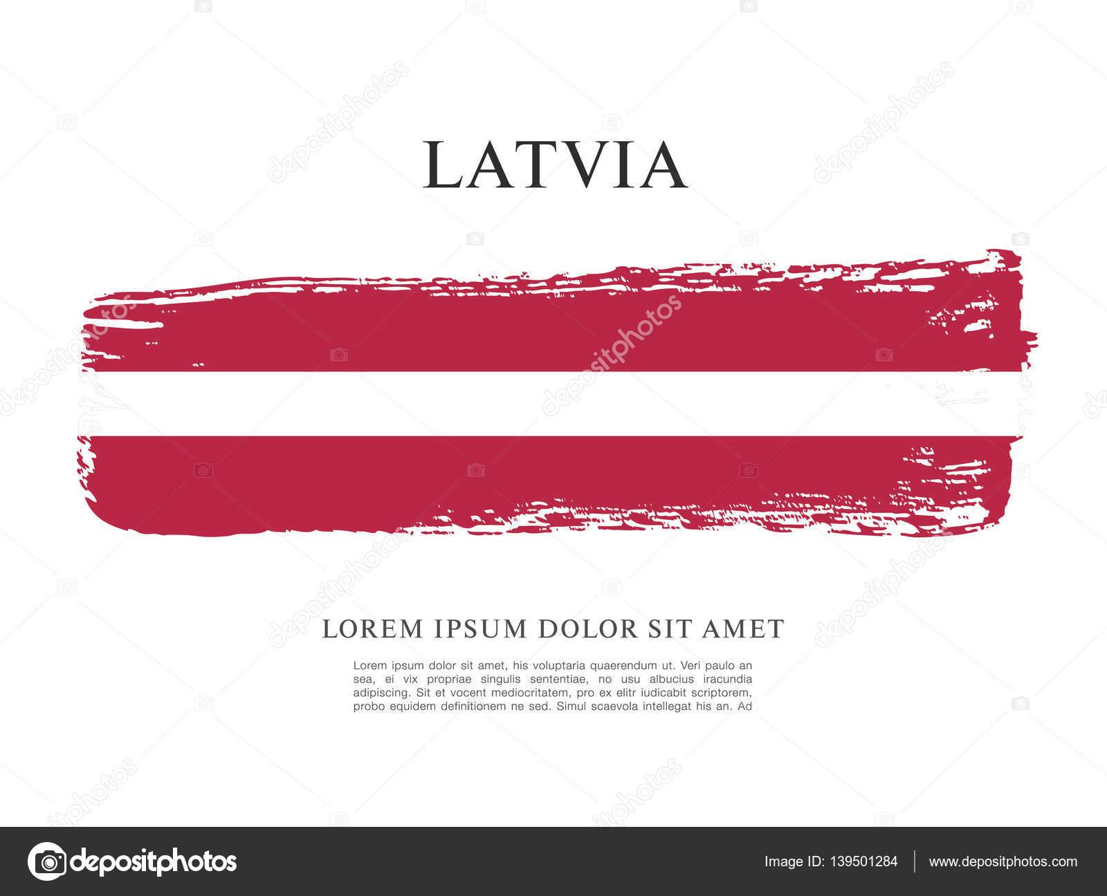 bandeira da bandeira da letónia vetores de stock igor vkv 139501284