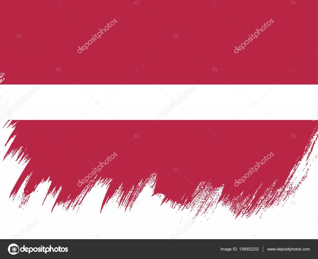 bandeira da bandeira da letónia vetor de stock igor vkv 139502232