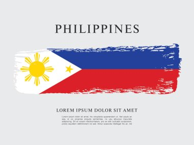 Flag of philippines banner