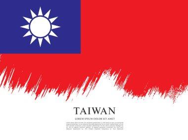 Flag of taiwan banner