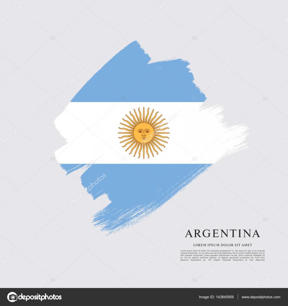 Bandeira Da Modelo Argentina Vetores De Stock Igorvkv