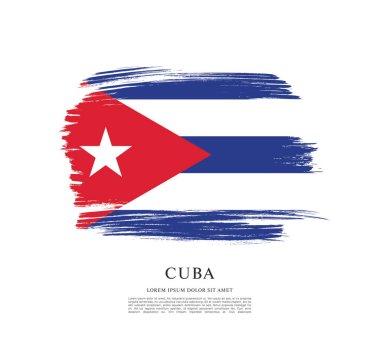 cuba Flag layout
