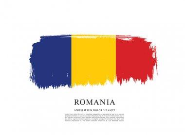 Romania flag layout