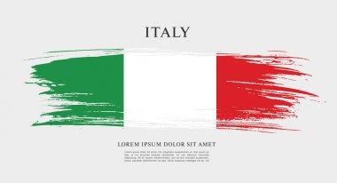 Italy flag layout