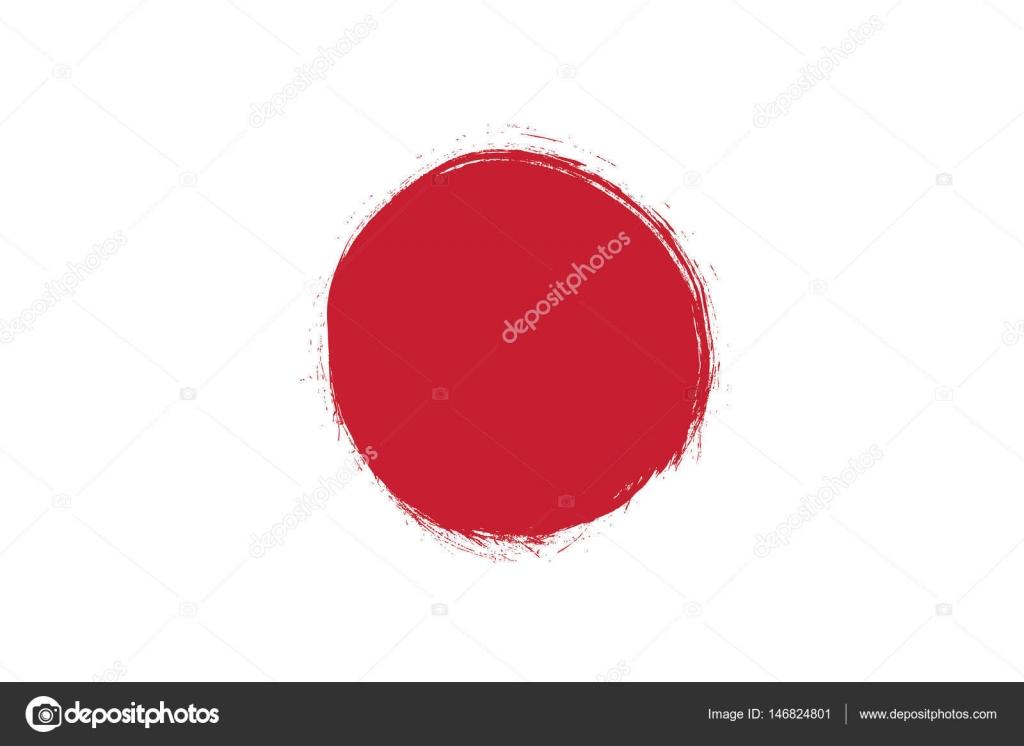Flagge von Japan-Hintergrund — Stockvektor © Igor_Vkv #146824801