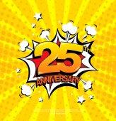 Fotografie 25th anniversary znak