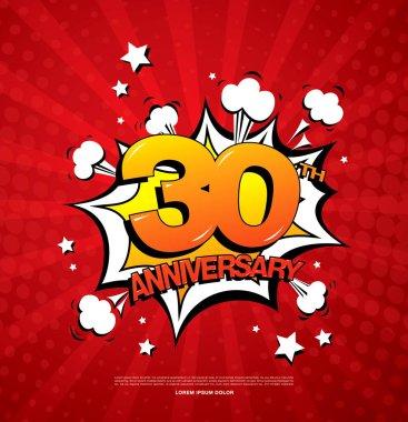 30th anniversary emblem