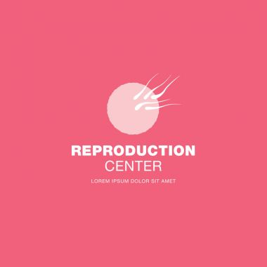 Reproduction center logo design