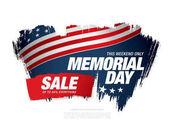 Fotografie Memorial-Day-Verkauf-banner