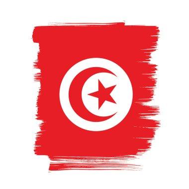 Tunisia flag layout