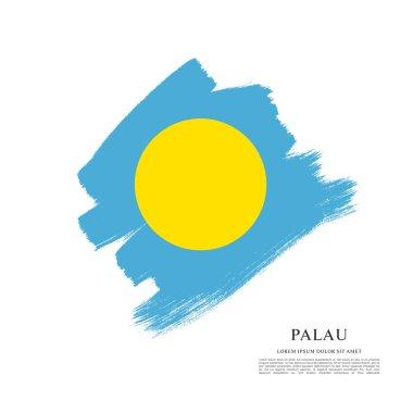 Flag of Palau background