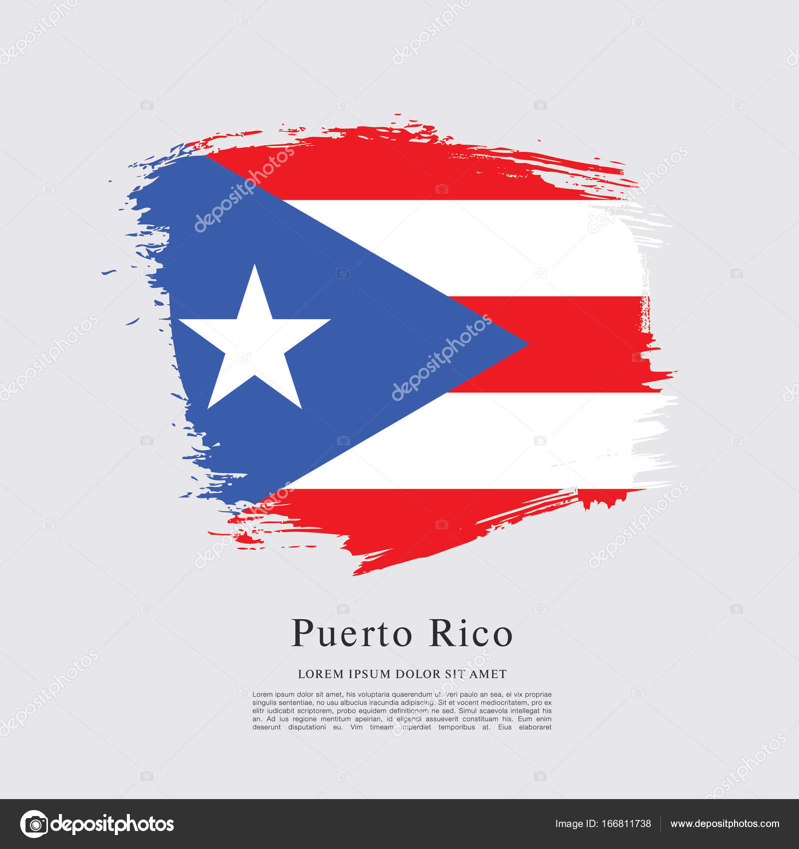 Flag of puerto rico flag stock vector igorvkv 166811738 flag of puerto rico flag stock vector biocorpaavc Choice Image