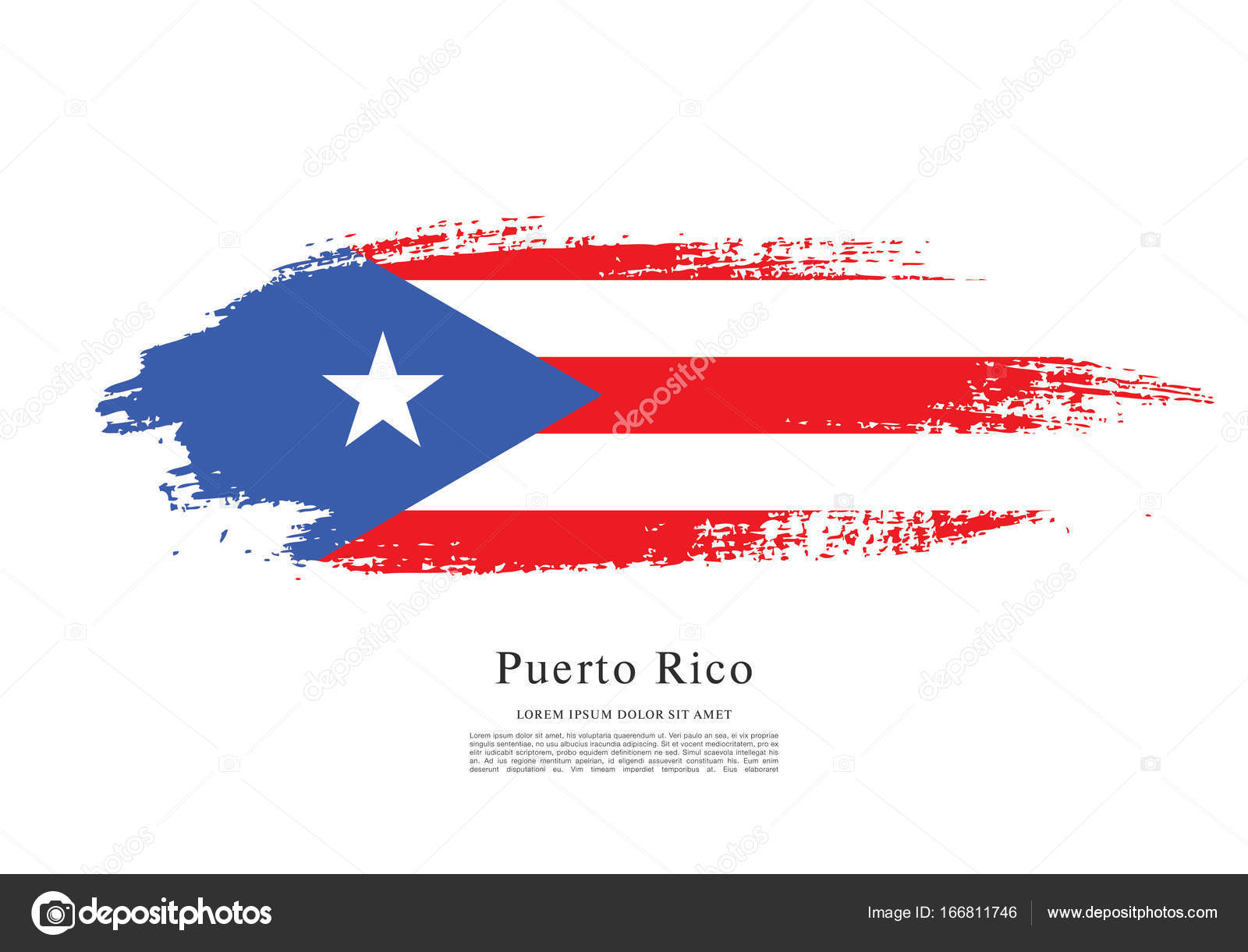 Flag of puerto rico flag stock vector igorvkv 166811746 flag of puerto rico flag stock vector biocorpaavc Image collections