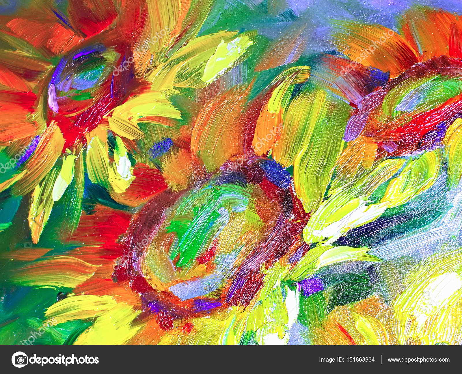 Pictures Easy Paintings Of Nature Texture Oil Painting