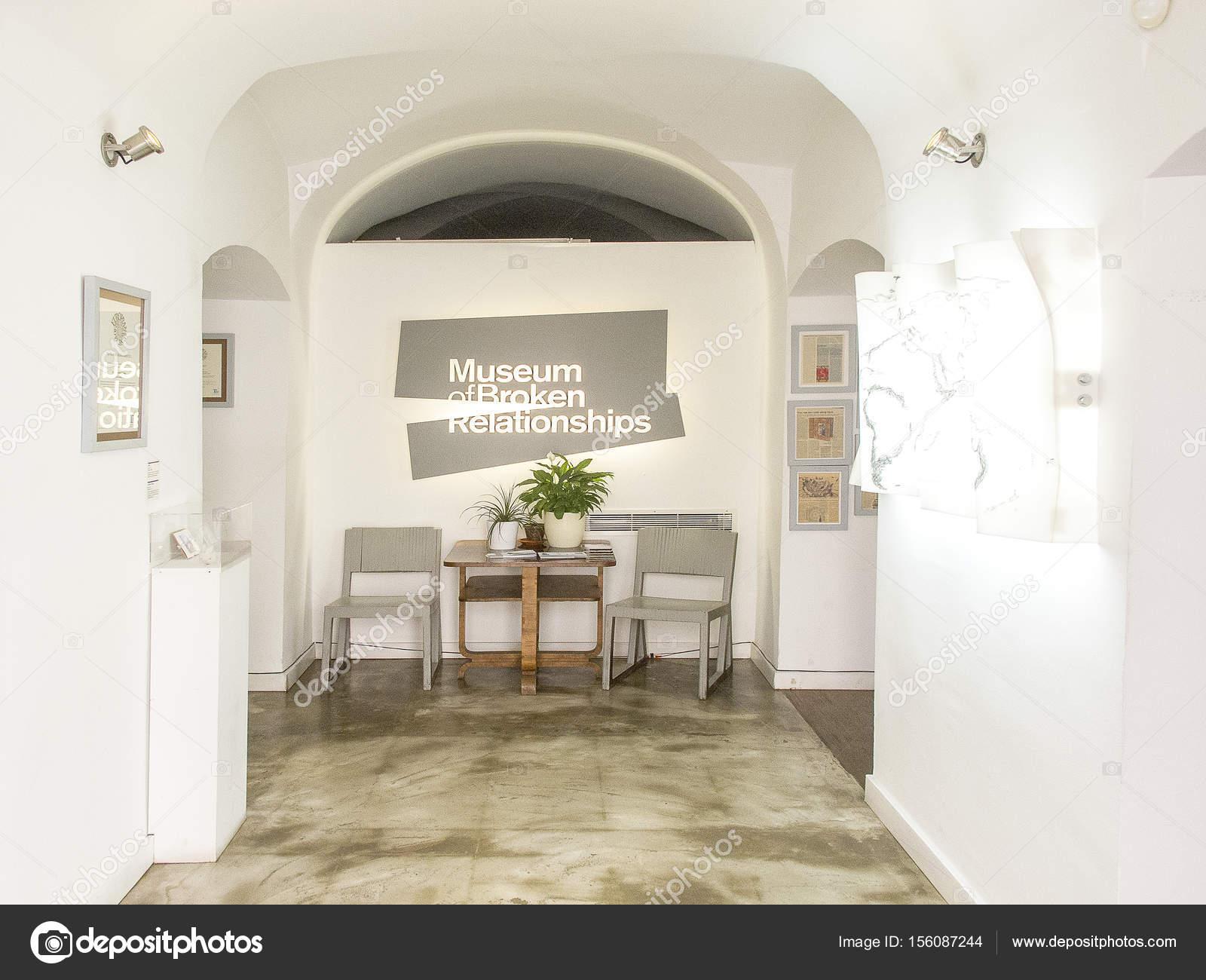 Museo De Las Relaciones Rotas En Zagreb Foto Editorial De Stock