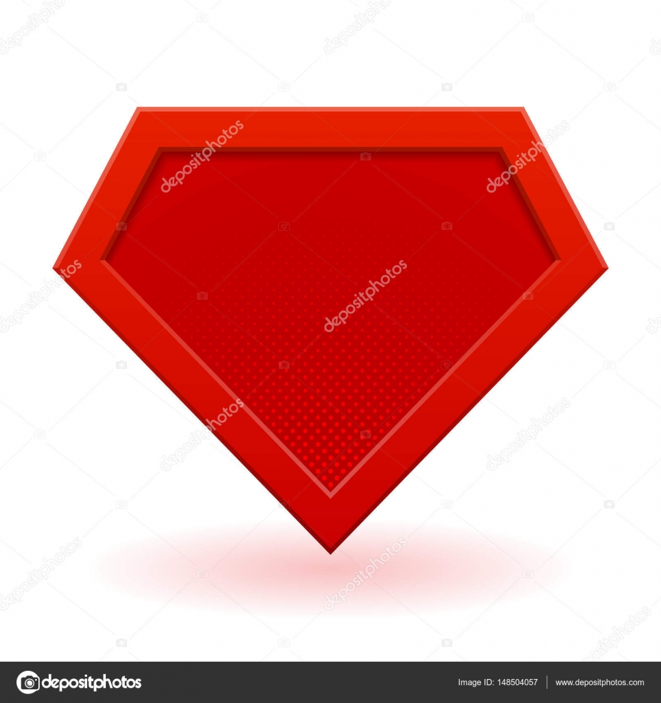 red superhero logo template stock vector gn8 148504057