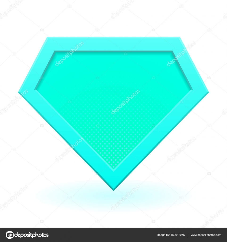 Cyan Superhero Logo Stock Vector Gn8 150012056