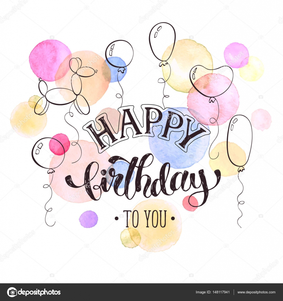 Happy Birthday Card Stock Vector A C Ollymolly 148117941