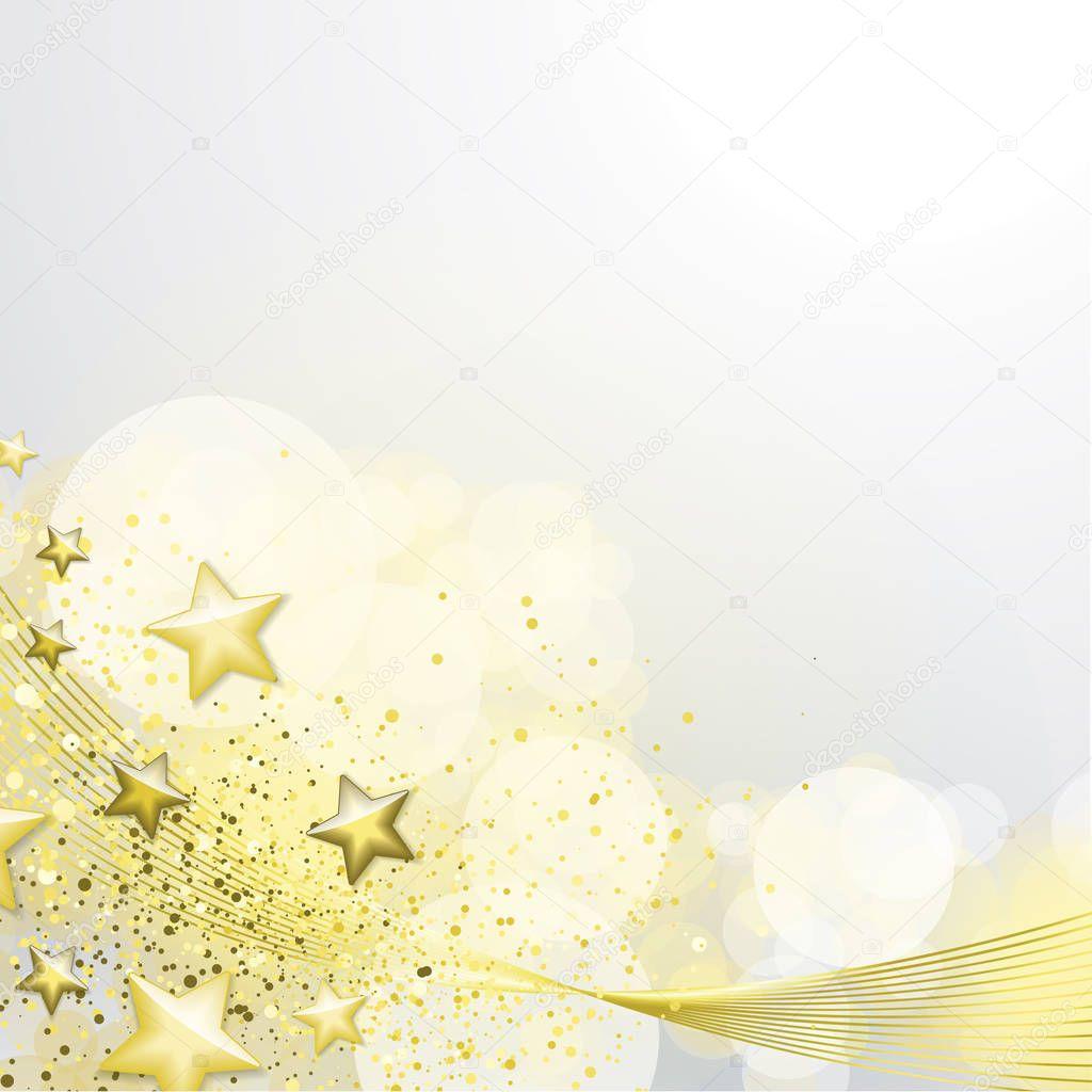 Sfondo Bianco E Oro Vettoriali Stock Orkidia 129361752
