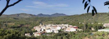 View of the village of Navajas