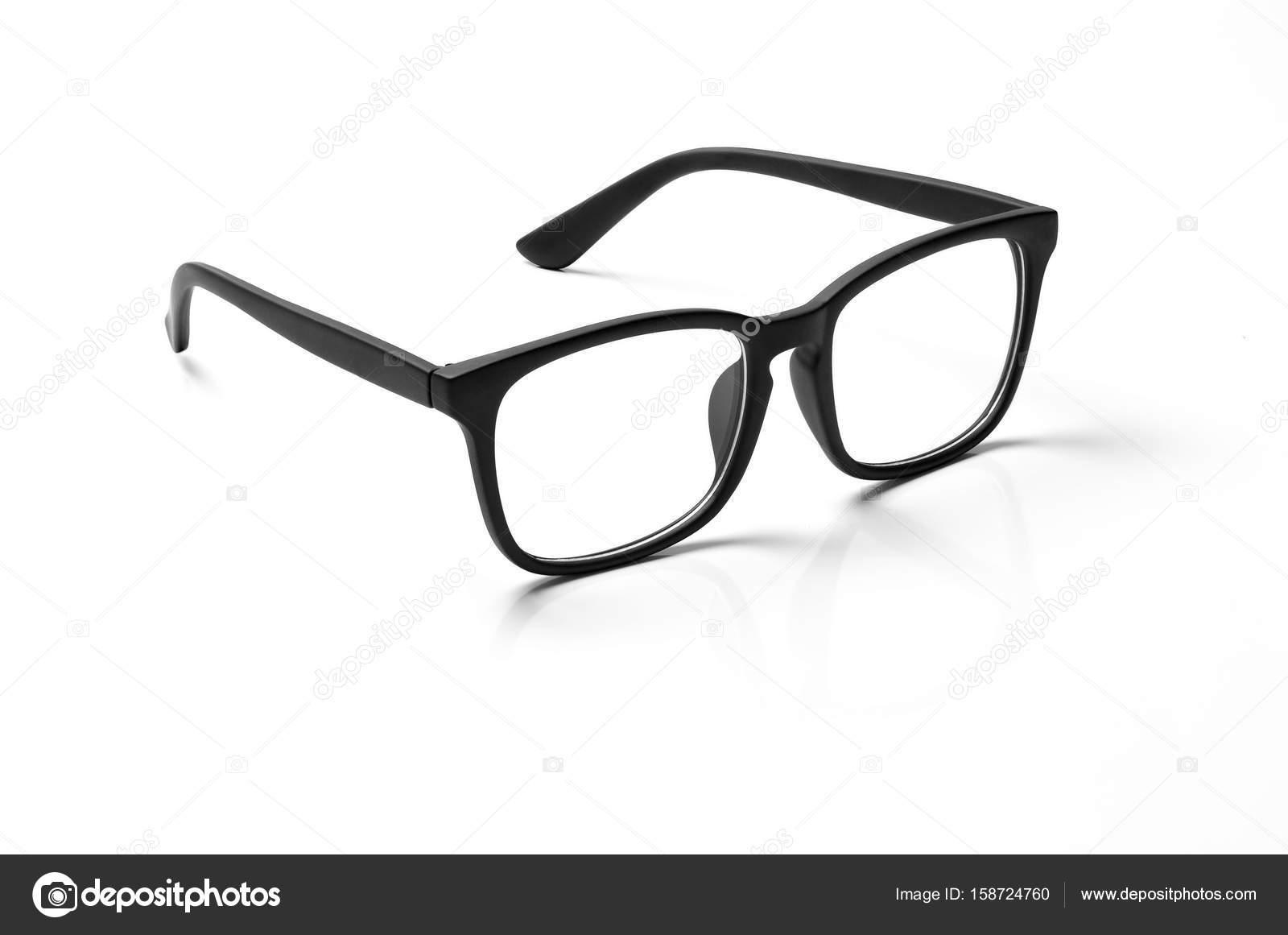 Számítógép szemüveg Vértes elszigetelt fehér background — Stock Fotó ... e014111b07