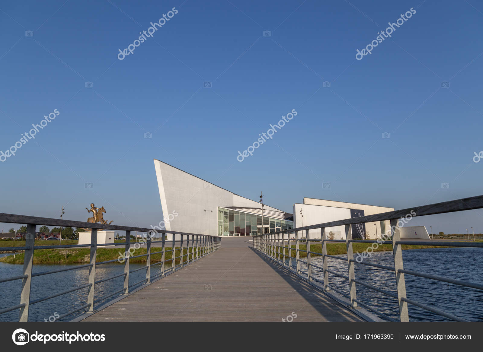 Arken Museum Of Modern Art Copenhagen Stock Editorial